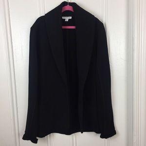 James Perse oversized black blazer